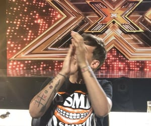 judge, the x factor, and liam payne image