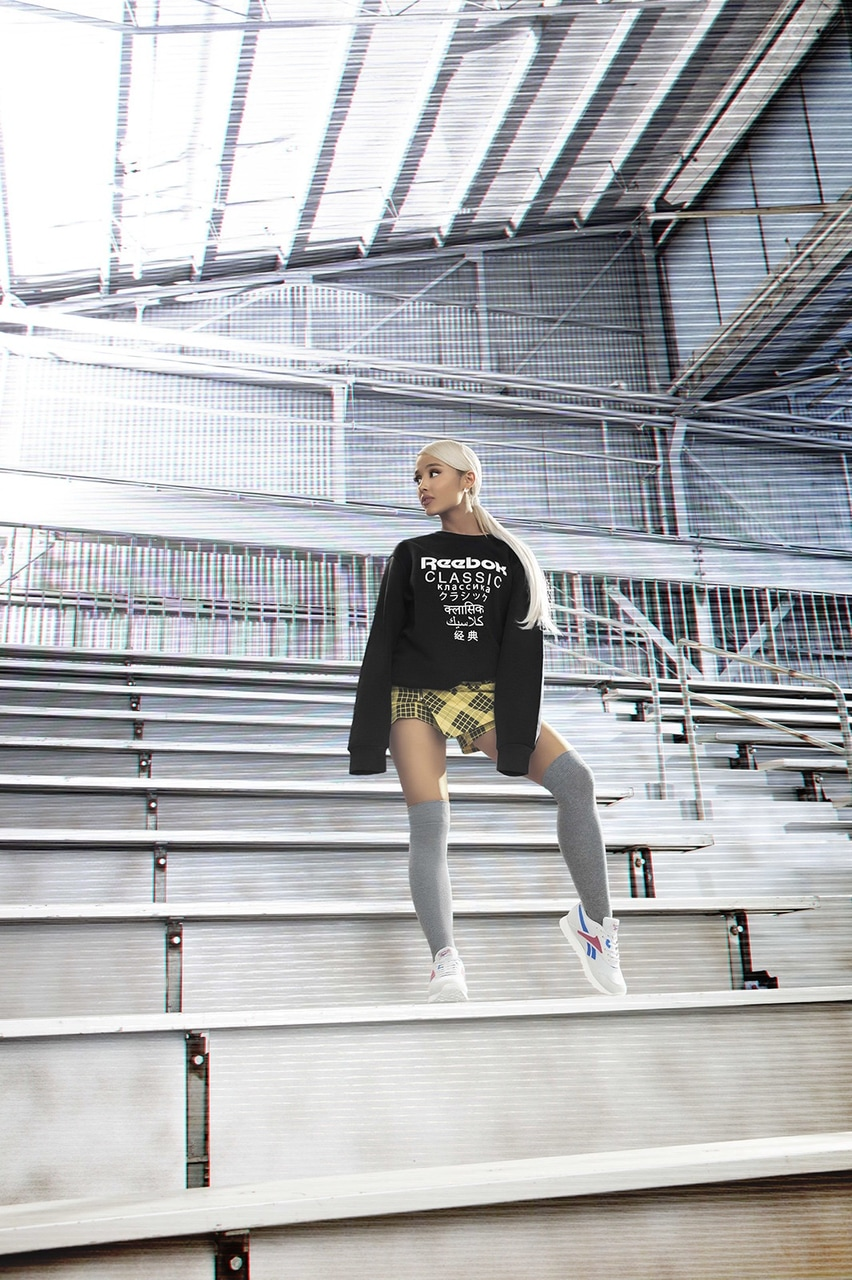 Seis Existe Aleta  25 images about ariana grande reebok 2018 on We Heart It | See more about  reebok, sweetener and arianagrande