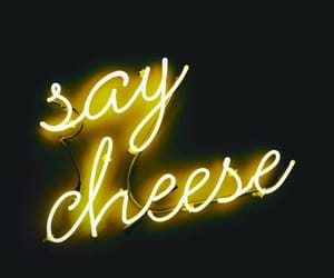 cheese, neon, and light image