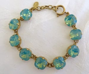 etsy, crystal bracelet, and opal bracelet image