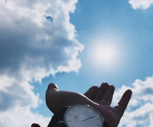 clock, cielo, and dw image