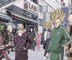 anime, dragon ball, and street wear image