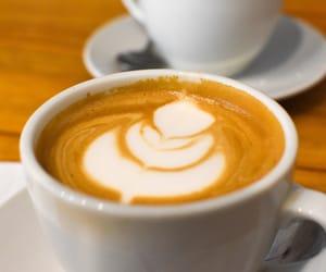 coffee, coffee art, and barista image