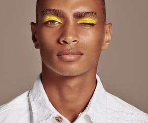 model, yellow, and daje image