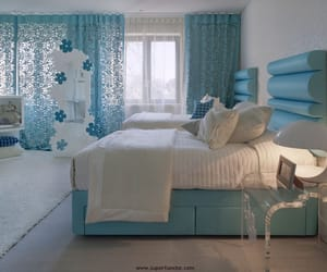 blue and bedroom image