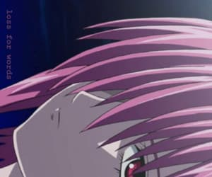 elfen lied, anime, and pink image