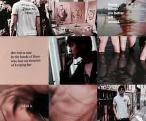 header, pink, and calum thomas hood image