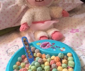 baby, cereal, and colors image