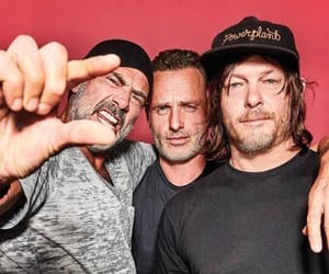 andrew lincoln, jeffrey dean morgan, and norman reedus image