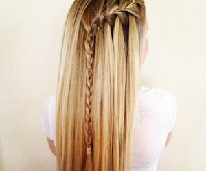 beautiful, braid, and fashion image