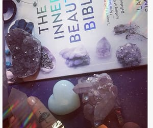 amethyst, crystals, and knuckle rings image