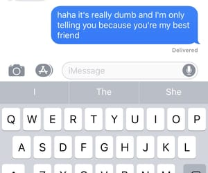 best friend, friendship, and text image