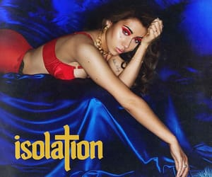 isolation and kali uchis image