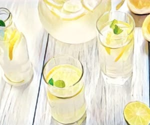 daylight, drinks, and food image