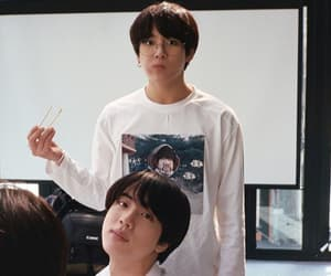 boys, handsome, and jin image