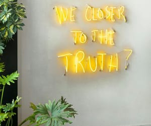 yellow, quotes, and light image