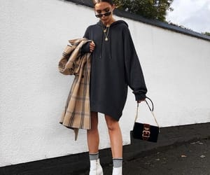 fashion, hoodie, and outfit image