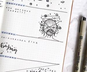 art, calendar, and doodles image