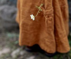 boho, flower, and skirt image