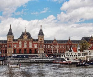 amsterdam, architecture, and central image