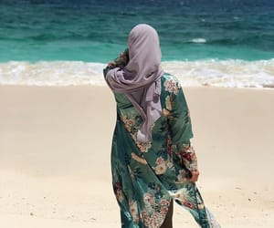 back, beach, and beautiful image
