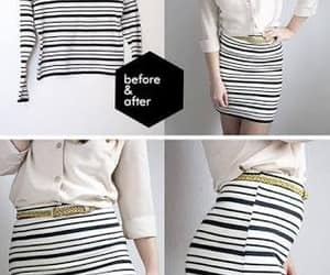diy clothing, clothing style, and skirt look image