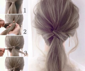 diy, hair, and girl image