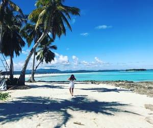 girl, summer, and holiday image