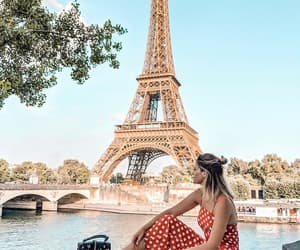 city, eiffel tower, and fashion image