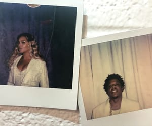 beyonce knowles, jay-z, and beyonce art image
