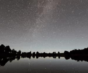 gif, meteor shower, and shooting stars image