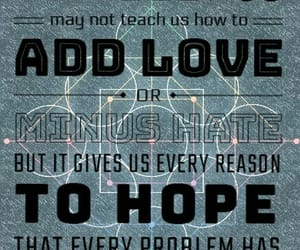 hate, math, and text image