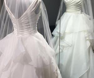 bridal, wedding, and ball gown wedding dress image