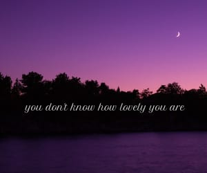 quotes, lovely, and moon image
