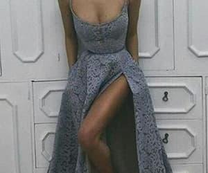 lace dress, prom dress, and sexy dress image
