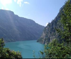 blue, green, and lake image