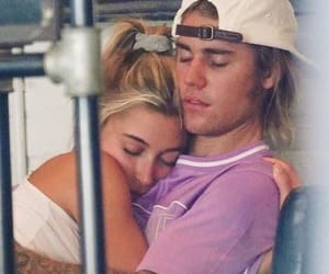 justin bieber, hailey baldwin, and couple image