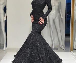 brillant, dress, and nightdress image