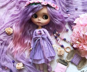 adorable, dolls, and flowers image