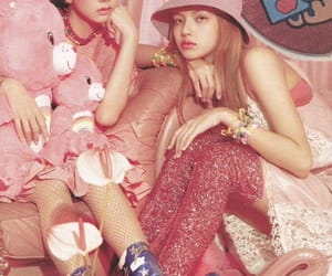 candy, lisa, and pink image