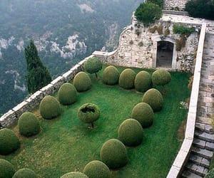 france, cote d'azur, and garden image