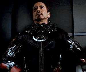 captain america, gif, and iron man image