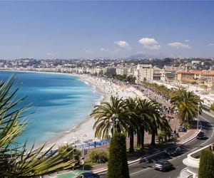 beachfront, france, and lookout image