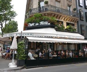 cafe de flore, france, and paris image