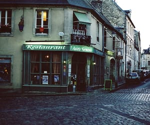 france, normandy, and restaurant image