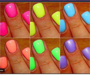 nails and bold colours image