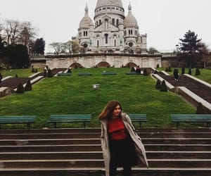 france, girl, and montmartre image