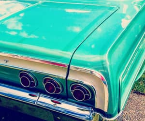 60s, chevy, and turquoise image