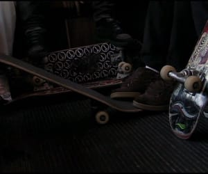 aesthetic, black, and skate image