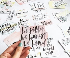 aesthetic, letters, and quotes image